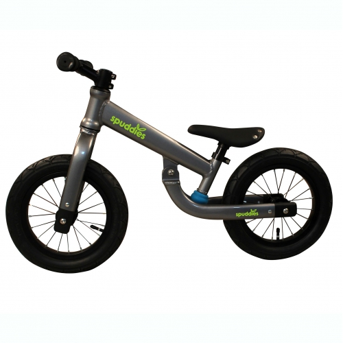Suspension balance bike